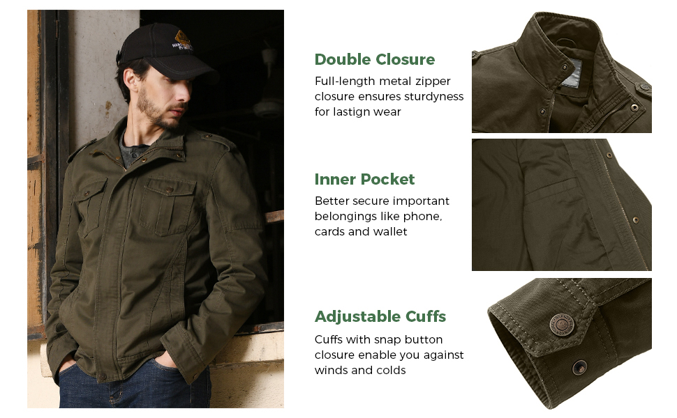 jacket casual