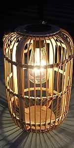bamboo solar lantern 1