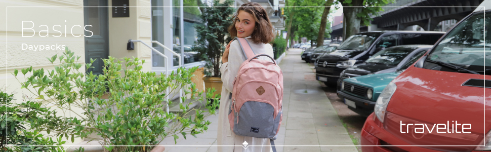 BASICS Daypacks neue CI