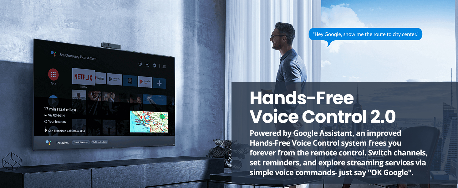 Hands-Free Voice Control