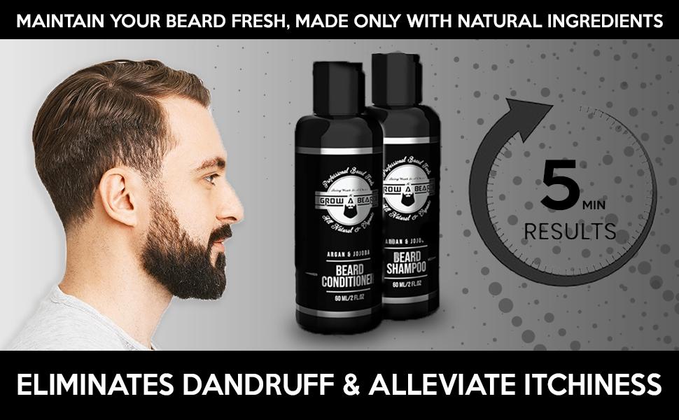 Beard Shampoo, Beard Conditioner