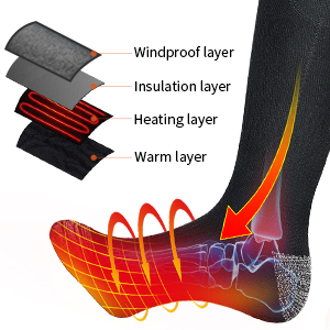 Battery Heated Socks