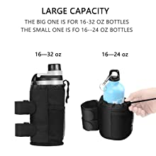 stroller cup holder, larger capacity