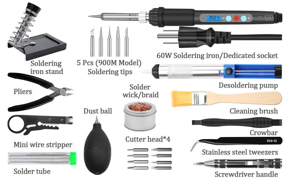 electronic soldering kit