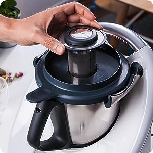 Thermomix Teefilter Teesieb teafilter tea strainer Teegenuss Teemischung Suppenbrühe broth