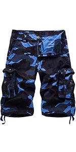 cargo short-blue camo