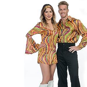 Disco dancing couple