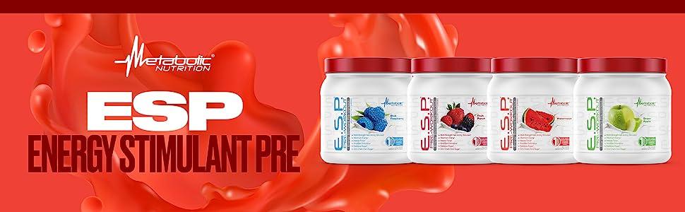 metabolic nutrition esp e.s.p. preworkout