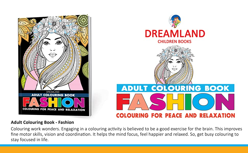 Adult colouring books, stress busters,  Dreamland Publicatons