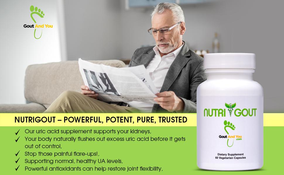Nutrigout uric acid support