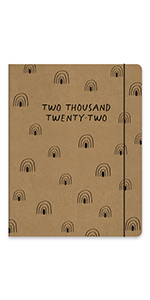 Tiny Totems Just Right Monthly Planner 2022