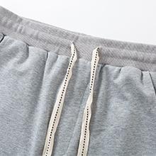 Womens Casual Cargo Cotton Shorts Bermuda Elastic Waist Drawstring Plus Size Shorts Pockets