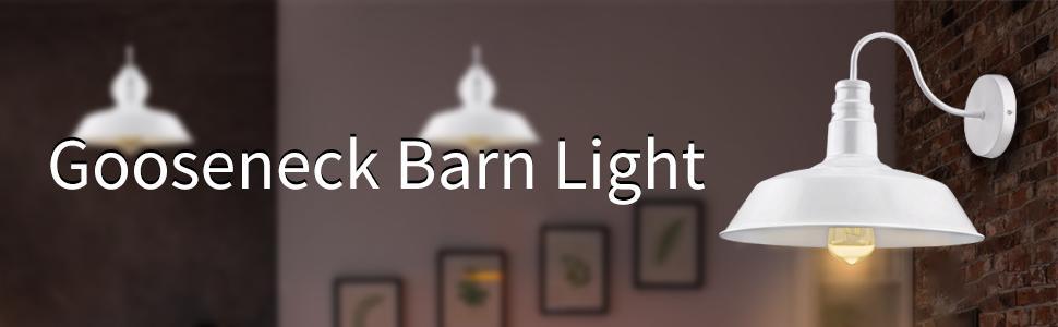 Gooseneck Barn Wall Light