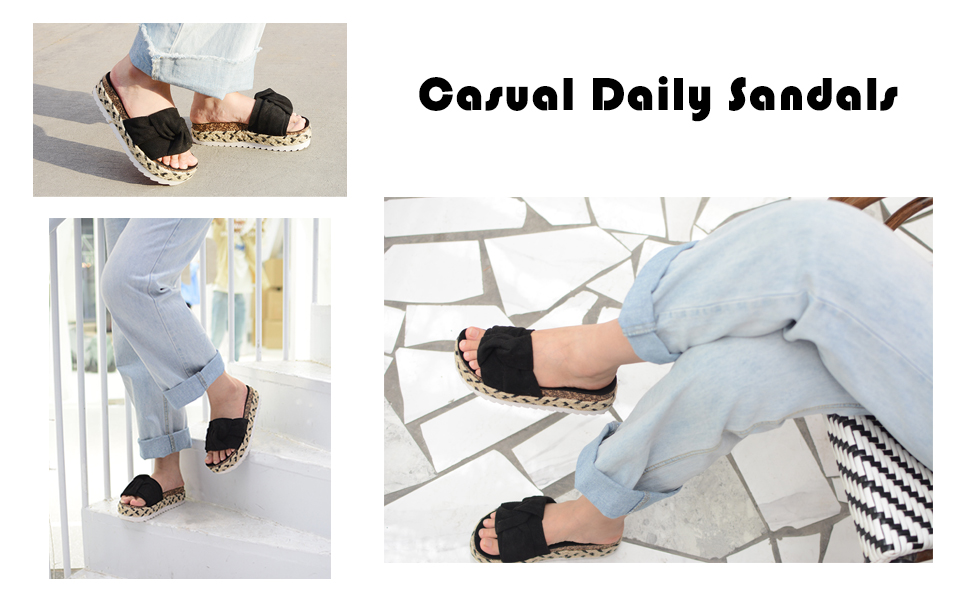 casual sandals for summer