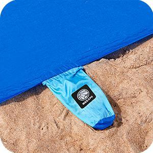 compact storage beach mat