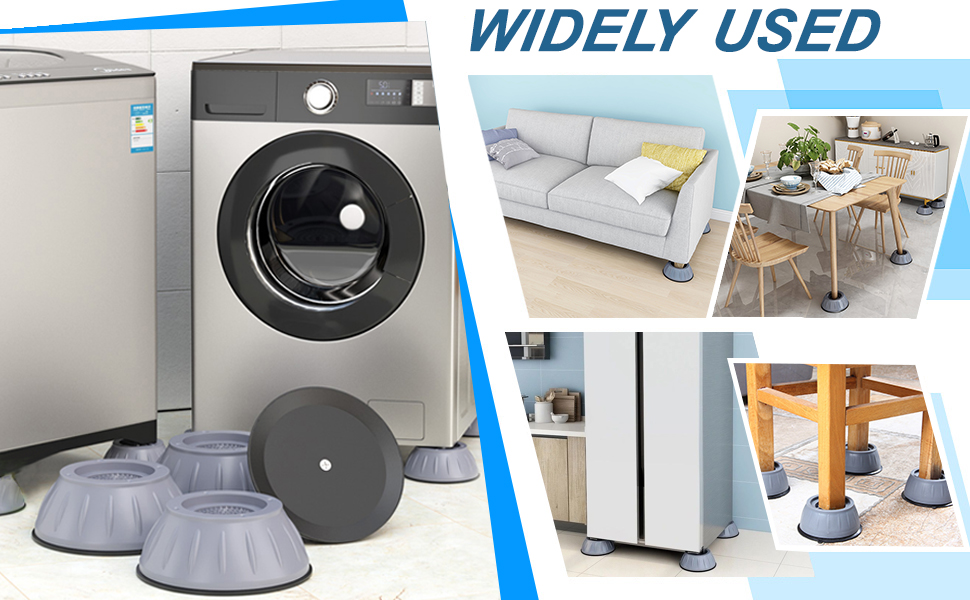 Shock Absorber Noise Cancelling Washer Support