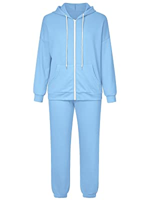 zip up tracksuits for womens sweatsuits