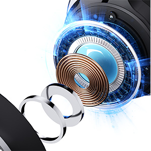 bluetooth headphones with microphone for kids noise cancelling over the ear kids headphone