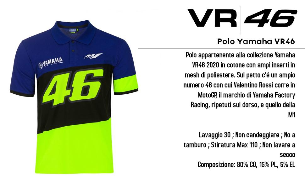 Polo Yamaha VR46.