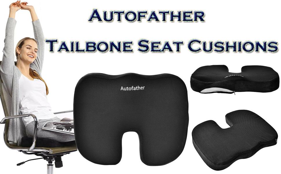 Autofather tailbone seat cushions