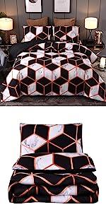 Geometric Comforter Set
