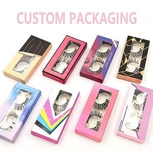 custom packaging eyelash