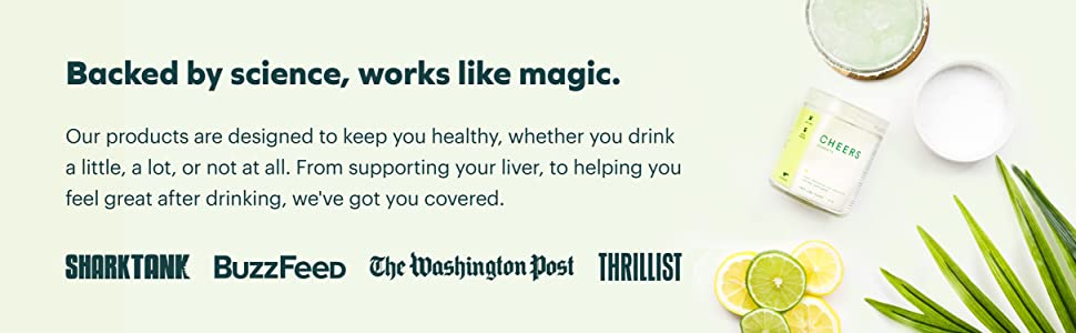 Cheers backed by science, works like magic