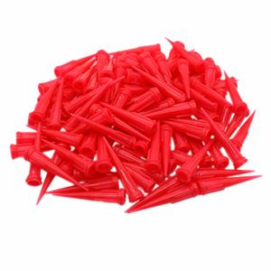 25G Red Plastic Tapered Dispensing Tips TT Glue Liquid Dispenser Needle
