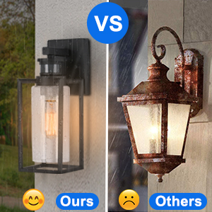 waterproof and weather resistance outdoor light