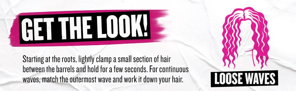 hairwaver; hairwavers; hairiron; hairirons; 3barrelwaver; beachywaves; bedhead; BH381; professional