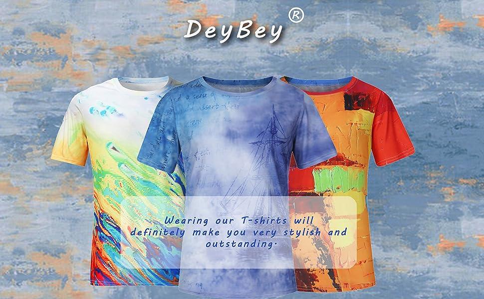 Mens abstract T-shirt