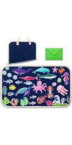 ocean felt board toddlers foldable travel friendly 1