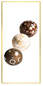 Brown amp;amp;amp;amp;amp; White Mother of Pearl amp;amp;amp;amp;amp; Resin Balls set