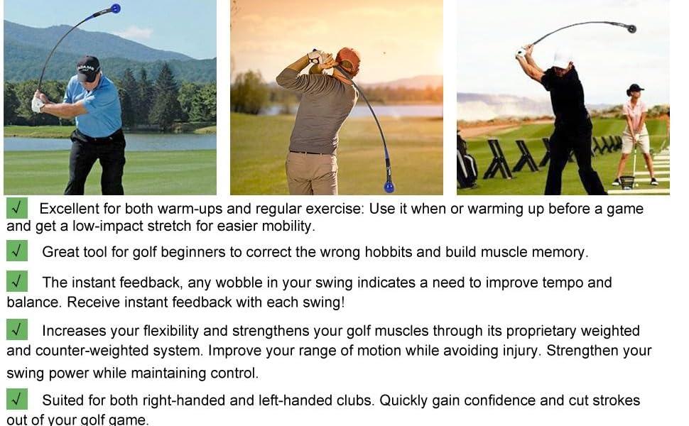Golf Swing Trainer Aid