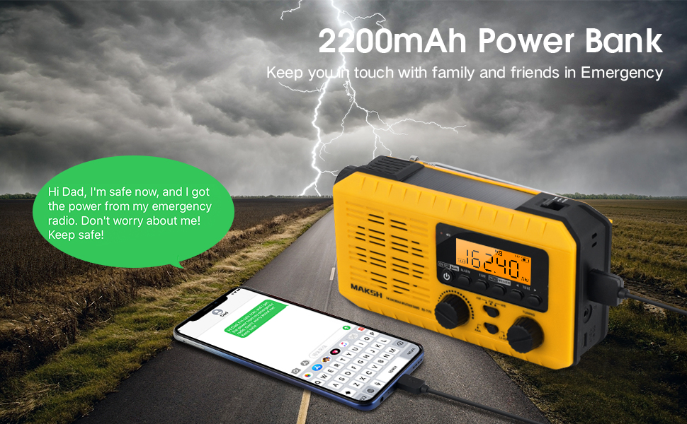 as a 2200mAh power bank