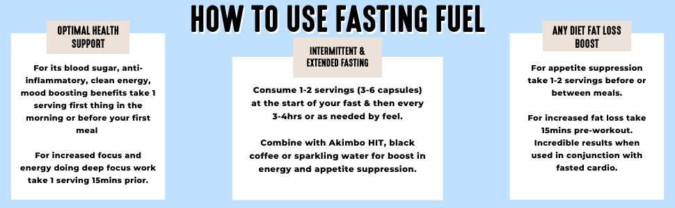 How to use Fasting Fuel for Intermittent Fasting