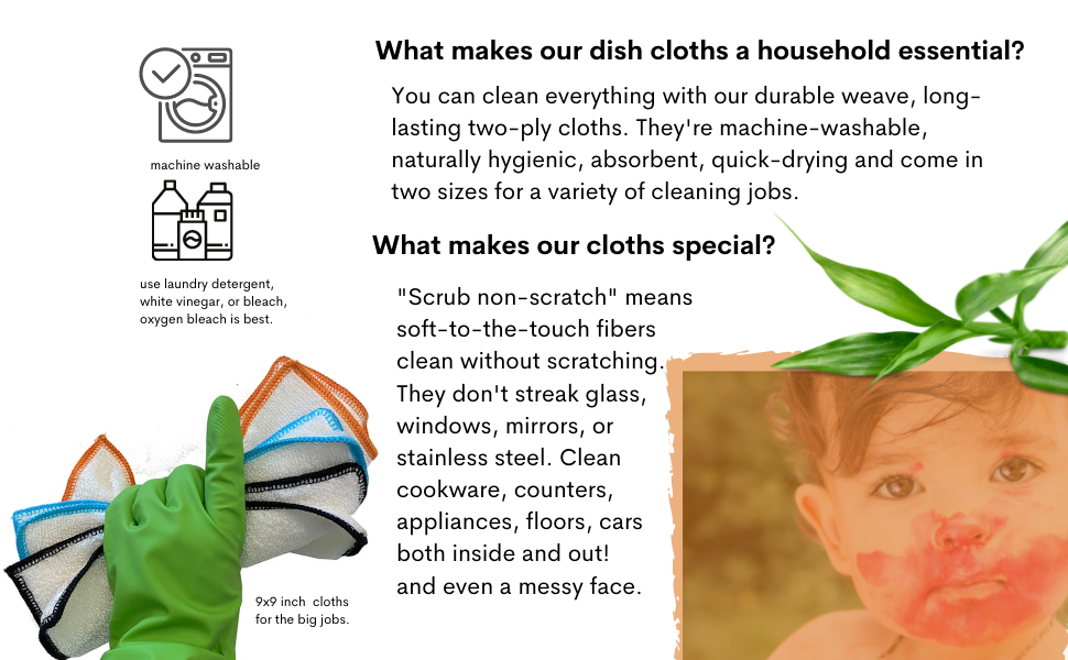 what makes a dishcloth