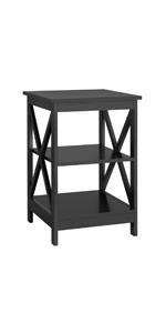2 tier x designed table