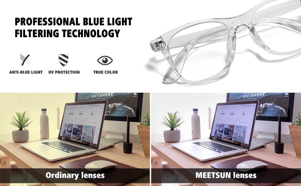 blue light filtering technology