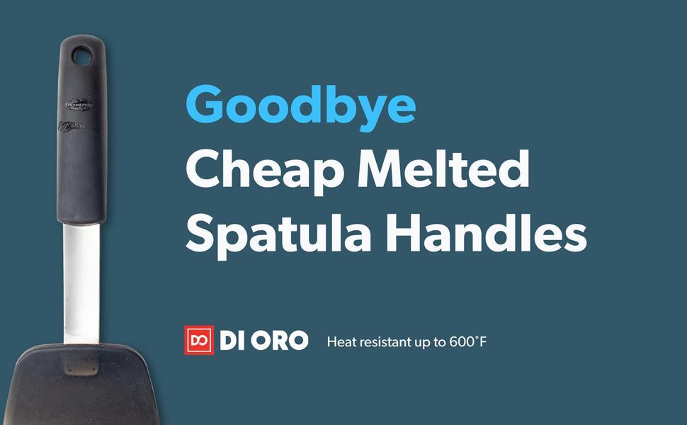 silicone heat resistant spatulas