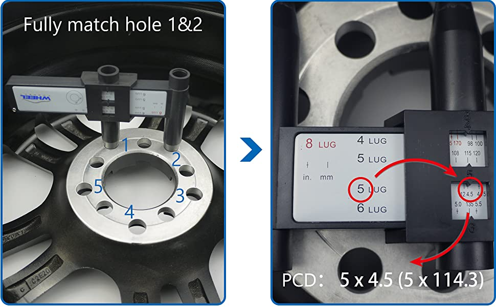 PCD gauge how to use