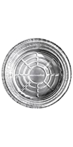 Dutch Oven Liner (12 Pack) 12amp;#34; Disposable Dutch Oven Foil Liners - Standard Size 12-Inch