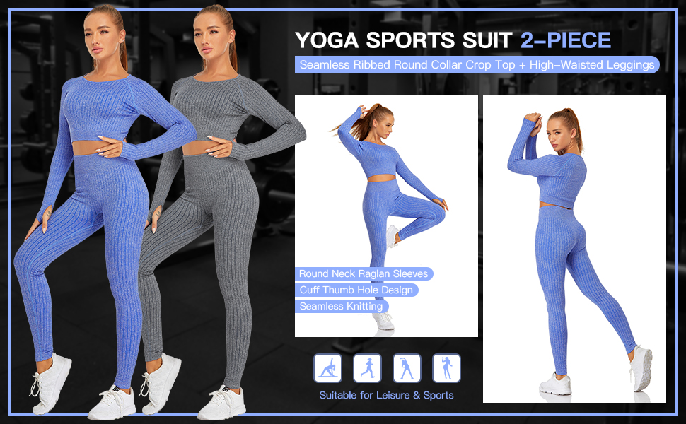 Workout set 2 piece for Womens