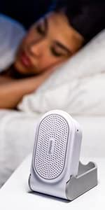 White noise soothing sounds noise block natural sounds office privacy portable hatch snooz homedics