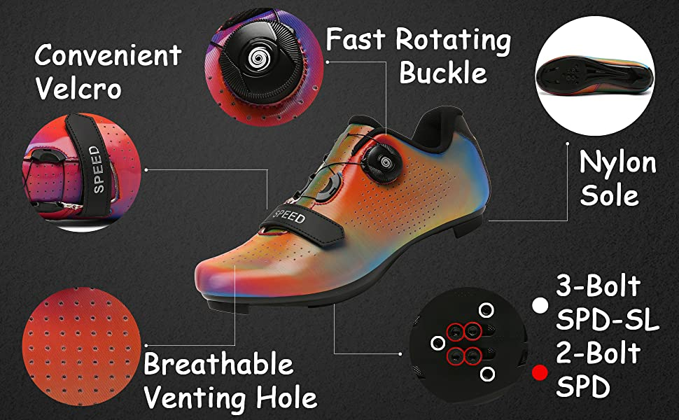 description of Great Flyor cycling shoes
