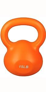 15 LB Kettlebell