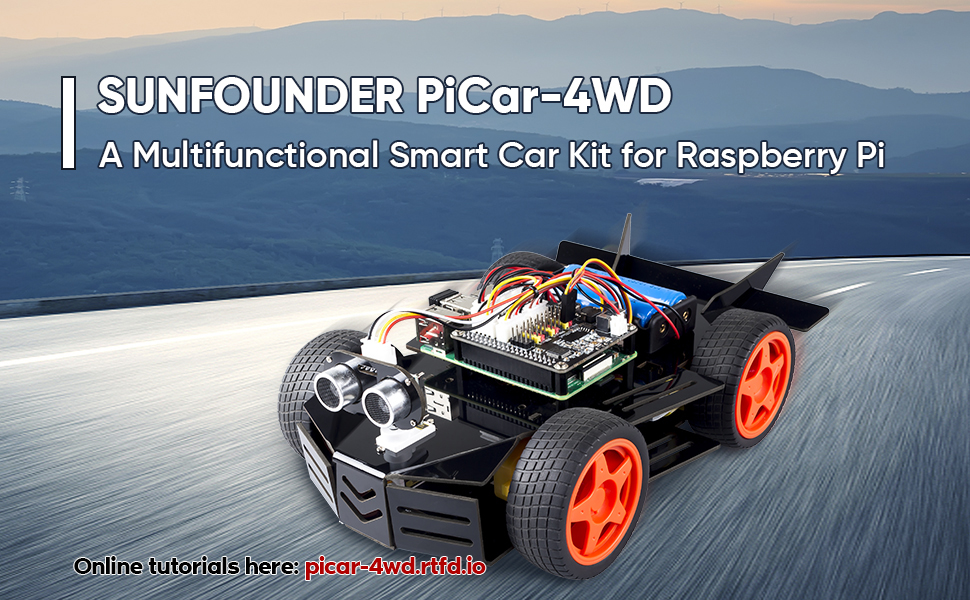 Raspberry Pi Car Kit