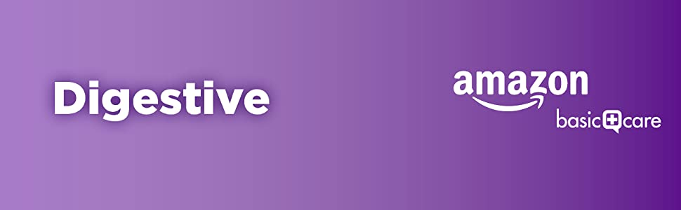 Amazon Basic Care Digestive Category banner