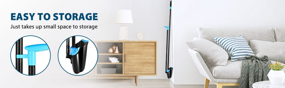 Broom and Dustpan Set for Home