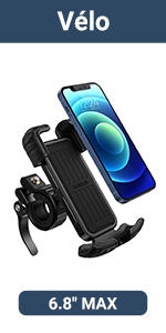 Support Téléphone Vélo Moto Scooter